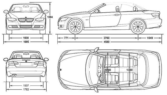 BMW 335i e93 specs